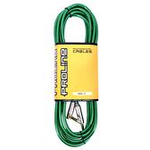 JYC Music 嚴選PRO LINE編織亮彩紋低雜訊導線(綠色)-4.5米/低雜訊/高傳導L接頭