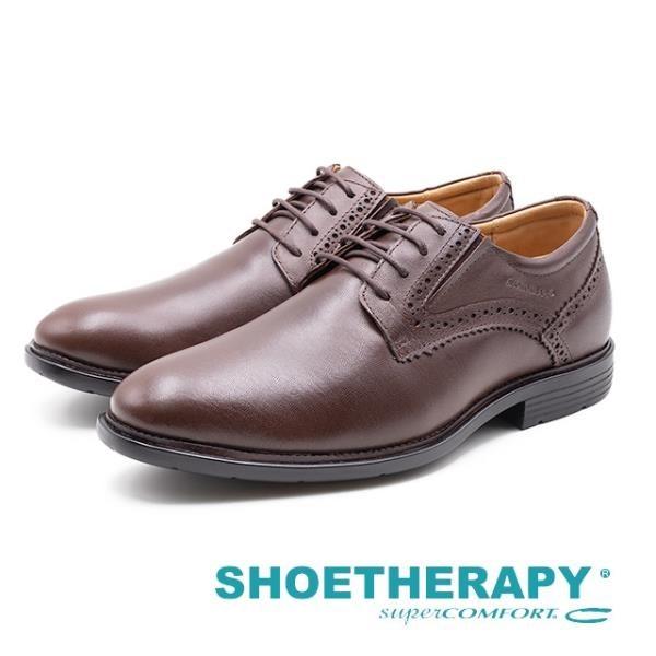 【南紡購物中心】SAPATOTERAPIA 巴西男士雕花綁帶紳士德比鞋 男鞋 - 棕(另有黑)