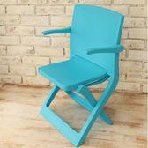 樂生活 專利創意坐躺折疊椅露營椅-藍
