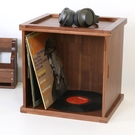 黑膠唱片LP收納箱CD架...