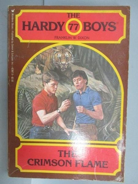 【書寶二手書T5/原文小說_CAJ】The Crimson Flame_The Hardy Boys #77
