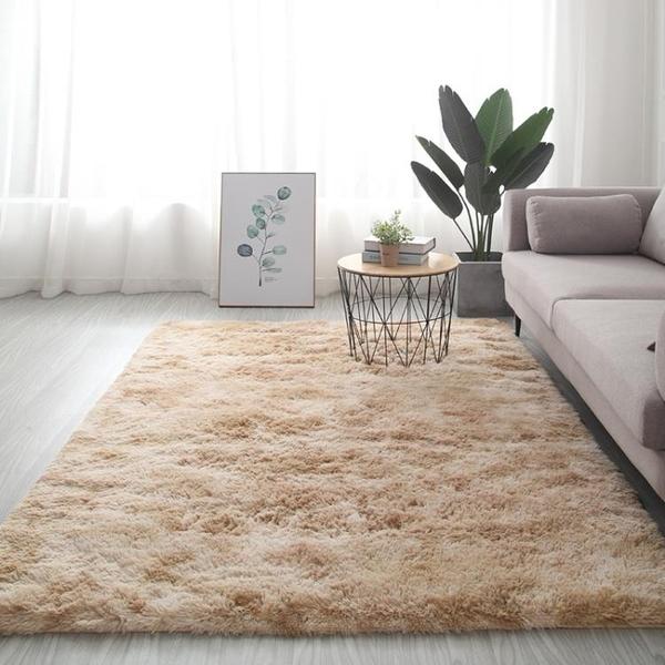 客廳地毯 北歐ins客廳地毯臥室滿鋪房間茶几 床下毛絨家用床邊少女毛毯地墊【快速出貨】