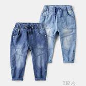 兒童牛仔褲新款休閒褲 E家人