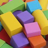 100大塊木制積木兒童益智1-2-3-6周歲寶寶幼兒園拼裝玩具【全館免運可批發】