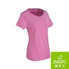 『VENUM旗艦店』【RATOPS】女 Wincool小雞心領短袖『桃粉紅/藍紫』DB-8875