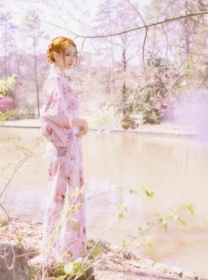 日本和服女浴袍衣日式改良復古和風和服【奇趣小屋】