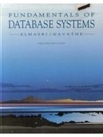 二手書博民逛書店《Fundamentals of Database System