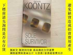 二手書博民逛書店DEAN罕見KOONTZ:SOLE SURVIVOR 【397】