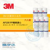 3M AP100 PP纖維濾心【六入組】│ 極淨水