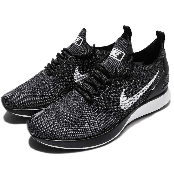 【六折特賣】Nike 慢跑鞋 Wmns Air Zoom Mariah Flyknit Racer PRM 黑 灰 運動鞋 女鞋【PUMP306】917658-002