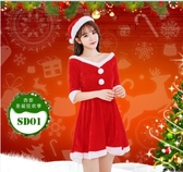 聖誕節服裝女成人性感聖誕演出衣服大碼服飾新款酒吧年會套裝  poly girl