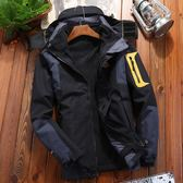 衝鋒衣男款三合一兩件套戶外抓絨衣透氣登山服女戶外保暖外套加厚