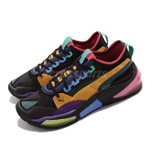Puma 休閒鞋 LQDCELL Optic Sheer 彩色 黑 男鞋 避震支撐 運動鞋【ACS】 192560-06
