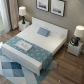 粉色床1.8米主臥雙人床1.5米經濟型現代簡約簡歐1.2單人出租床架【下標前聯繫客服】jy