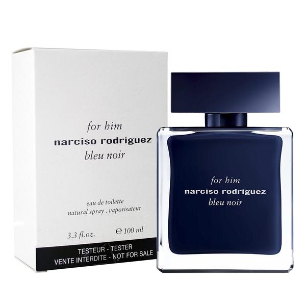 【Narciso Rodriguez】Bleu Noir 紳藍 男性淡香水 100ML TESTER-環保盒有蓋