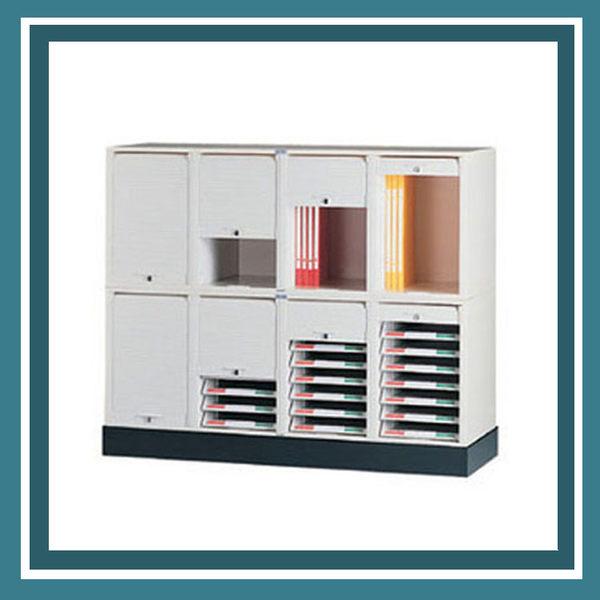 【必購網OA辦公傢俱】CP-6404+CP-6407+CP-04 四排腳座 公文櫃 資料櫃 效率櫃