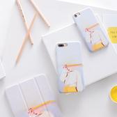 99免運 現貨 蘋果 I8 plus I7+ iPhone6s 手機殼 保護殼 硬殼 憂鬱女孩