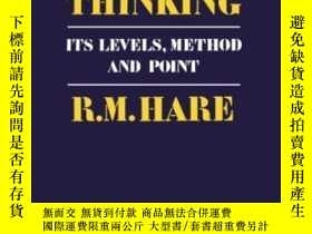 二手書博民逛書店Moral罕見ThinkingY364153 Richard Mervyn Hare Oxford Unive