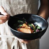 泡麵碗半房雜貨 美式磨砂陶瓷碗大號拌面拉面碗泡面湯碗沙拉碗 萬聖節
