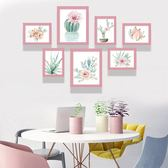 北歐風格客廳裝飾畫沙發背景墻掛畫組合美式墻畫現代簡約餐廳壁畫WY 喜迎中秋 優惠兩天