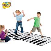 幼兒童男孩女孩跳舞音樂腳踩踏電子琴鋼琴毯益智早教音樂玩具禮物 HM