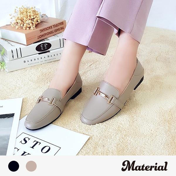 包鞋 可後踩金扣飾包鞋 MA女鞋 T52032