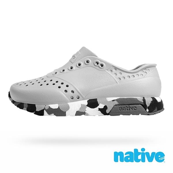 native 小童鞋 LENNOX 小雷諾鞋-鴿子灰x金平糖
