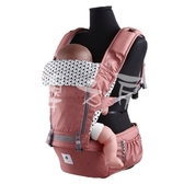 【嬰之房】韓國 Pognae No.5超輕量機能坐墊型背巾(紐約紅)