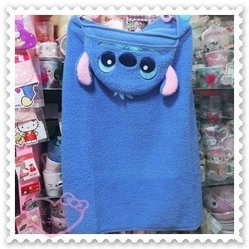 ♥小花花日本精品♥Hello Kitty 史迪奇 毛毯 冷氣毯 可披掛 22508904