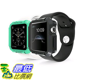 [105美國直購] 蘋果錶帶 Apple Watch Case 2-in-1 Watch Sport Watch Edition 2015 iWatch Protective Watch B012N73SP6
