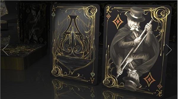 【USPCC撲克】Black Exquisite Special Players Edition