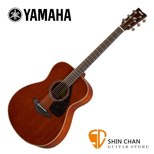 YAMAHA 山葉 FS850 41吋單板 全桃花心木 民謠吉他 原廠公司貨 附琴袋、背帶、移調夾、PICK