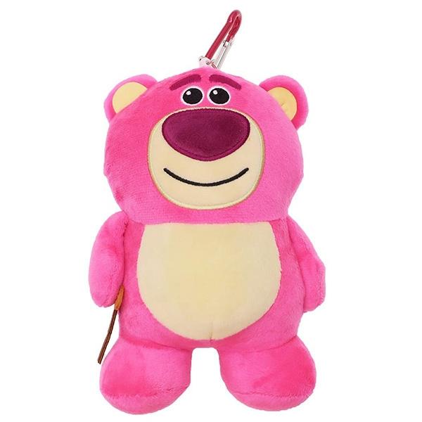【熊抱哥票卡包】迪士尼 熊抱哥 娃娃票卡包 伸縮拉線 日本正品 該該貝比日本精品 ☆