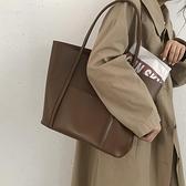 小眾設計包包女2020新款網紅復古托特包百搭ins大容量單肩手提包3 幸福第一站