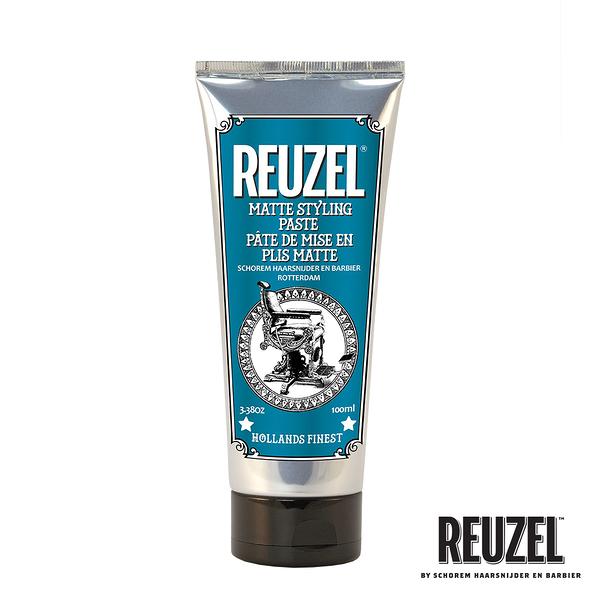 REUZEL Matte Styling Paste 強力無光澤豐盈塑型乳 100ml (原廠公司貨)【Emily 艾美麗】