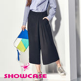 【SHOWCASE】韓系氣質垂墜感簡約時尚寬褲(黑)