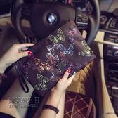 設計韓版手包蝴蝶圖案手拿包潮流尚男女手拿包信封包潮「尚美潮流閣」
