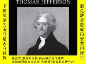 二手書博民逛書店The罕見Constitutional Thought Of Thomas JeffersonY364682