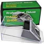 發牌機百家樂發牌器德州撲克道具 透明撲克牌發牌盒牌靴