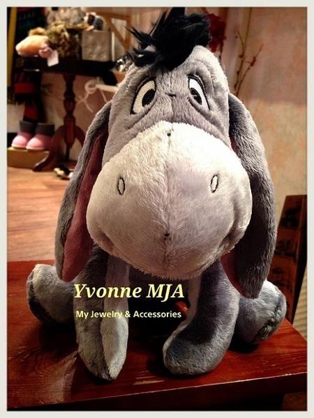 *Yvonne MJA* 美國 迪士尼 Disney 樂園 限定正品 Eeyore 驢子娃娃