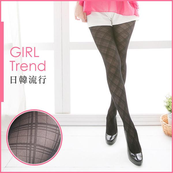 就愛購【SJ82005】薇菈美襪 VOLA Girl Trend 人氣流行花紋褲襪 - 蘇格蘭紋