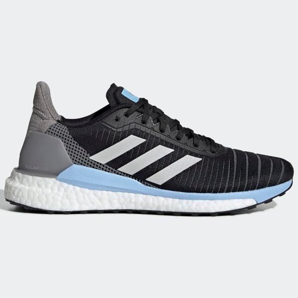 ADIDAS SOLAR GLIDE 19 女鞋 慢跑 BOOST 馬牌底 穩定 緩震 黑灰藍【運動世界】G28038