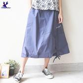 【單一特價】American Bluedeer - 剪接抽繩裙 春夏新款