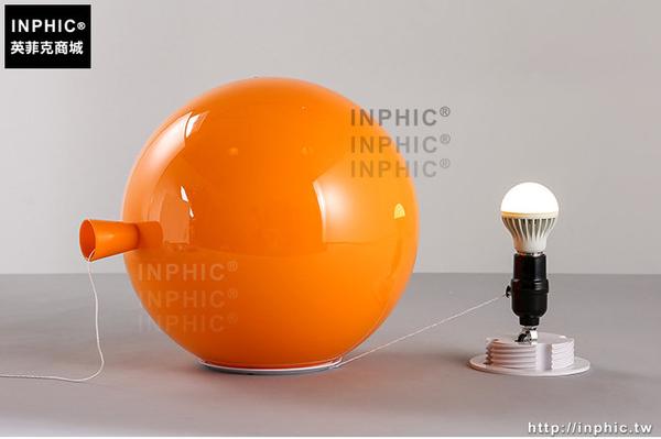INPHIC- 現代橙色氣球燈北歐簡約壓克力玄關過道餐廳臥室床頭燈兒童房壁燈-H款_S197C