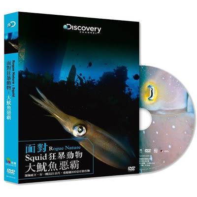 Discovery-面對狂暴動物:大魷魚惡霸DVD