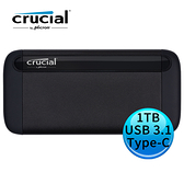 Micron 美光 Crucial X8 1TB USB 3.1 Gen 2 Type-C SSD 外接固態硬碟 CT1000X8SSD9