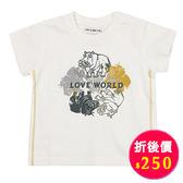 【愛的世界】純棉圓領河馬短袖T恤/1歲/3歲/10歲-台灣製- ★春夏上著