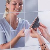 【Miss Sugar】DIY創意假鏡貼 隨處可黏創意玻璃貼 (9入一組)【K4002648】