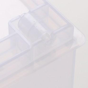 FINE 隔板整理盒 附輪 深型款 14.7L LF1003 45x16.8x22.6cm