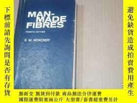 二手書博民逛書店(英文版)MAN-MADE罕見FIBRES人造纖維 (詳情請看圖